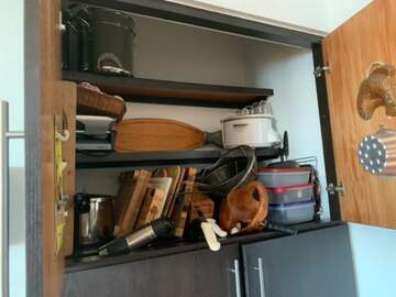 cupboards spilled (public domain)