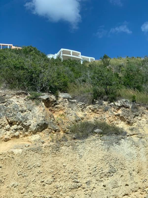 My home as seen from Highway # 2 below. (public domain)