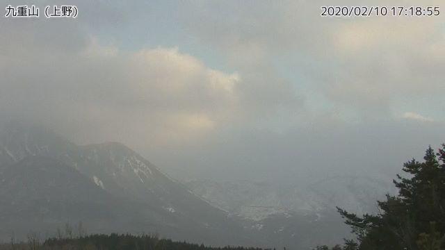 Aso volcano today (image: JMA)