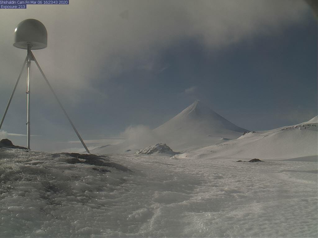 Shishaldin volcano (image: AVO)