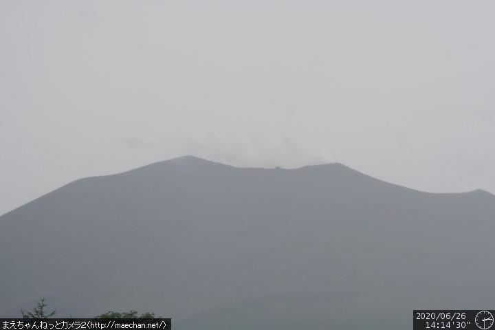 Asama volcano today (image: Asama Live)