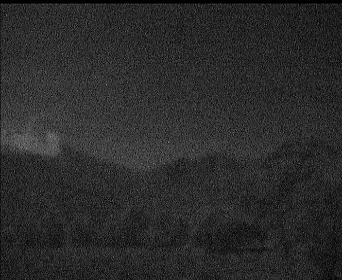 Copahue with a steam plume this morning (SERNAGEOMIN webcam)