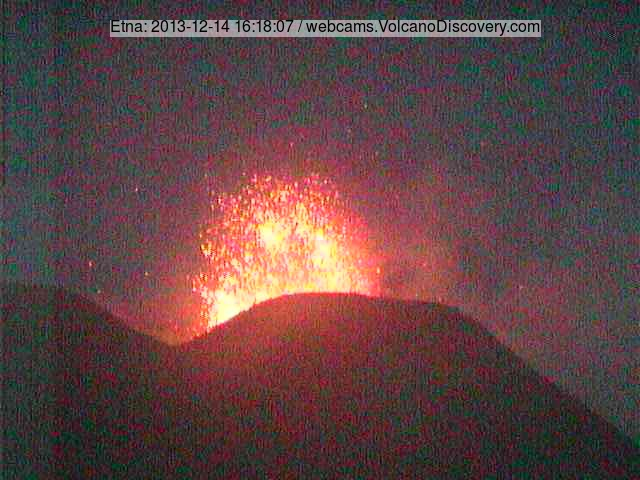 Strombolian activity at the New SE crater