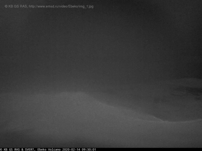 Ebeko volcano today (image: KVERT)