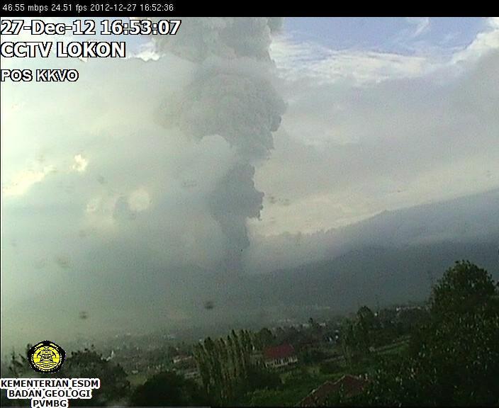 Explosion of Lokon this morning (GMT 09:50)