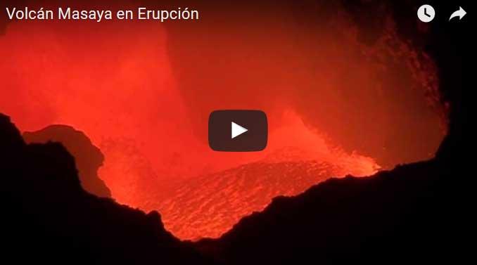 Video snapshot of Masaya's lava lake around 28 Mar 2016
