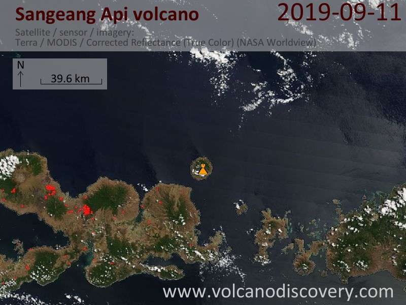 Volcanoes Today - summary of volcanic activity world-wide