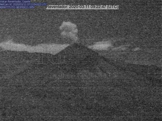 An explosive eruption from Reventador volcano today (image: IG)
