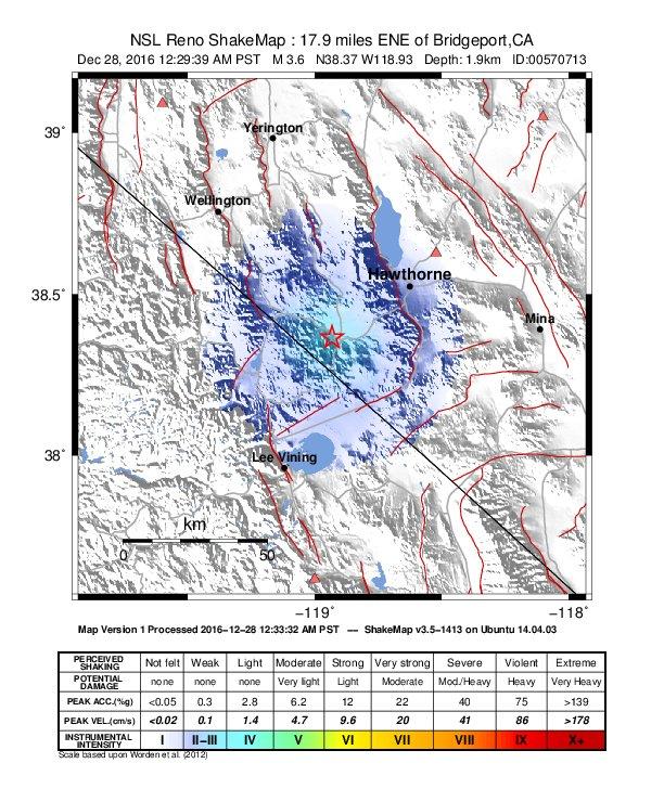 Earthquake info : M3 7 earthquake on Wednesday, 28 December